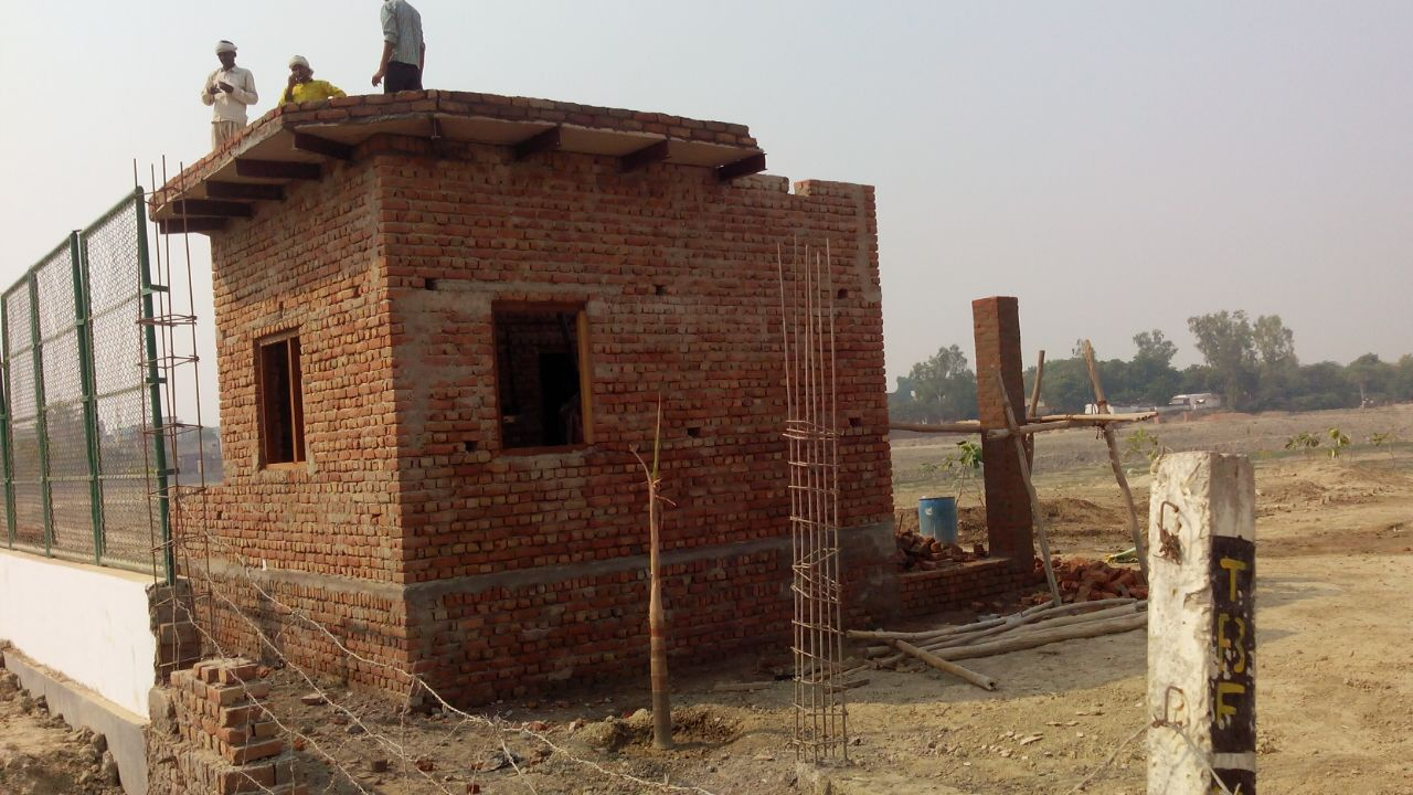 Construction of Camp Office