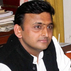 Shri  Akhilesh Yadav - Chief Minister of UP (11th March 2015)